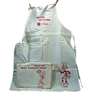 Vintage, Reddy Kilowatt - 4H Advertising Apron