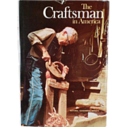 Vintage Book - The Craftsman in America - Hardbound