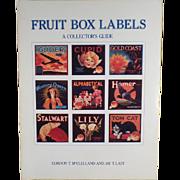 Old Reference Book on Vintage Fruit Box Labels