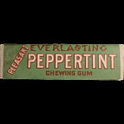Vintage Chewing Gum Stick - Everlasting Peppertint