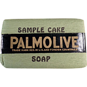 Vintage Soap Sample -  Palmolive Soap, Sample Bar