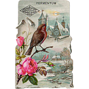 Vintage Trade Card - Fermentum Yeast Advertising
