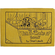"Children's Old Project and Story Book by Shari Lewis ""The Tell it - Make it Book"""