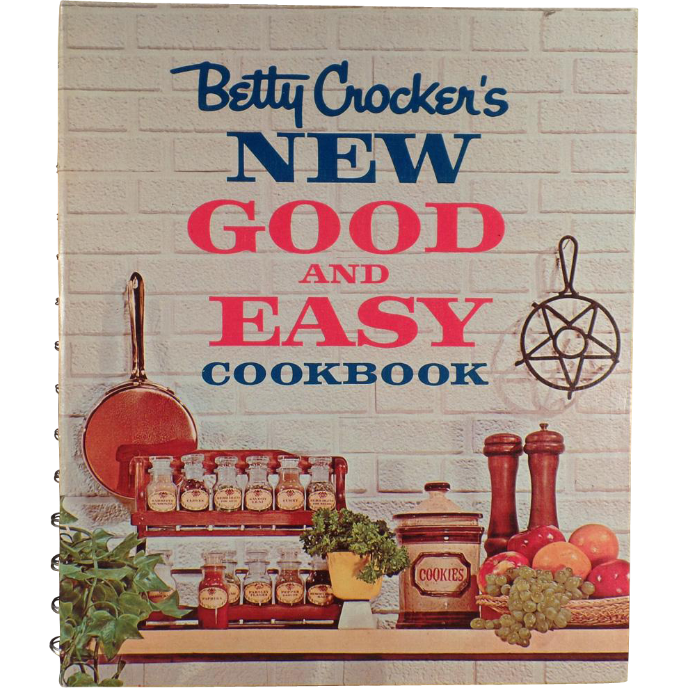 Betty Crocker Vintage Cookbook 17