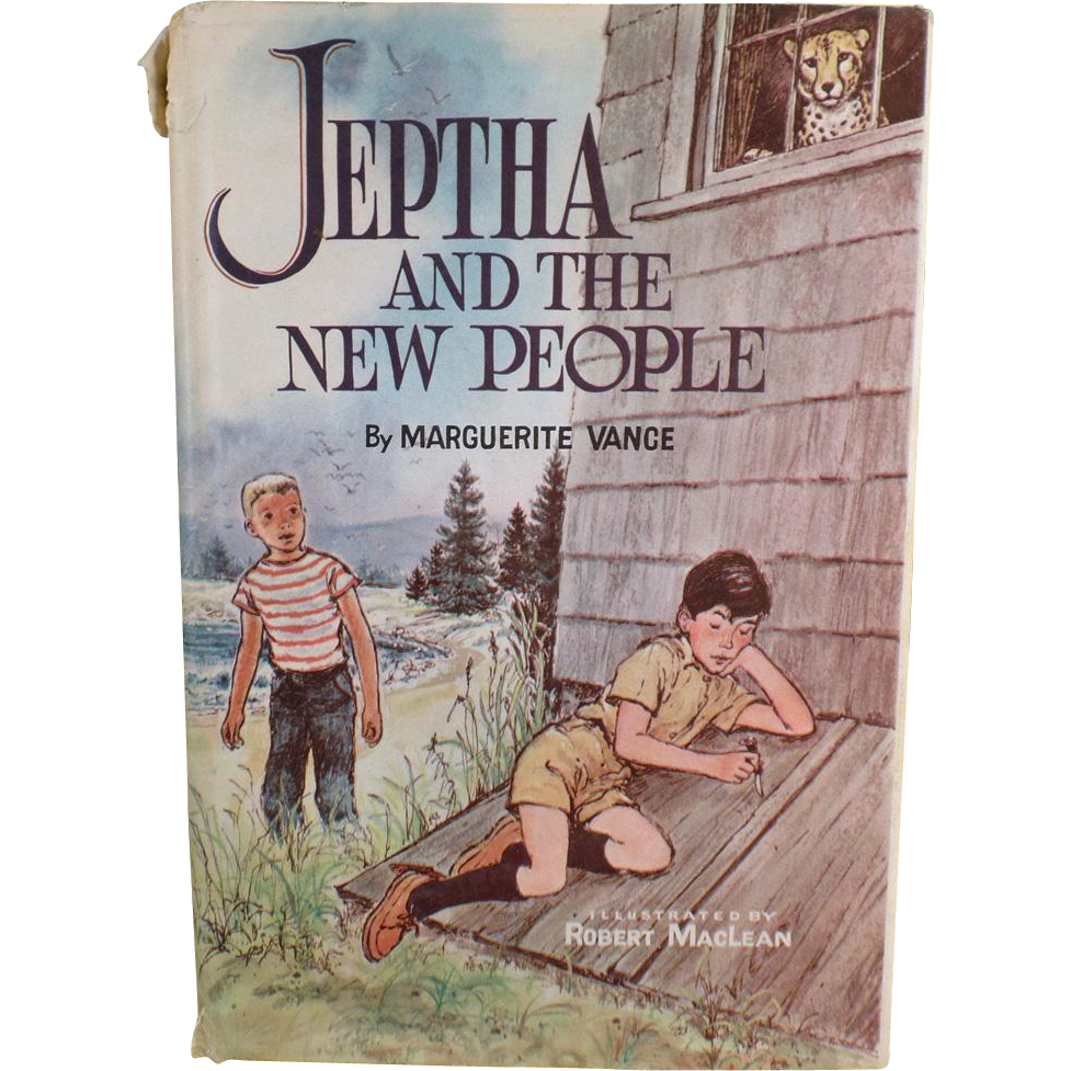 Vintage, Marguerite Vance Novel - Jeptha and the New People