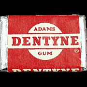 Vintage Chewing Gum Tab - Dentyne