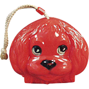 Child's Vintage Purse - Fun, Plastic Dog Face