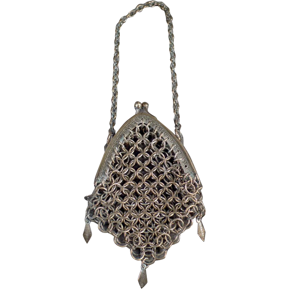Little Vintage Purse - Chain Mesh, Germany