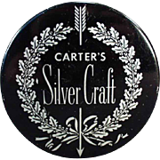 Vintage Typewriter Ribbon Tin - Carter's Silver Craft