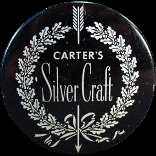 Vintage Typewriter Ribbon Tin - Carter's Silver Craft