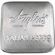 Vintage Advertising Tin - Huyler's Italian Pepps - Early 1900's