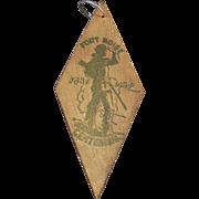 Vintage Key Ring - Idaho Memorabilia - Fort Boise Centennial - Boise Souvenir