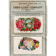 Vintage Sample Packet from Ohio Card Company