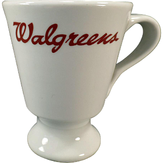Vintage, Walgreens Drugstore Lunch Counter Coffee Cup