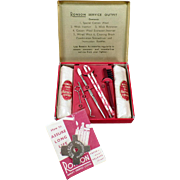 Vintage Ronson Service Outfit - Complete Kit for Ronson Lighter Maintenance