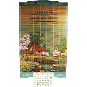 Decorative, Vintage, Advertising Calendar - 1970 - Idaho Advertising