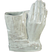 Vintage Frankoma - Praying Hands Vase