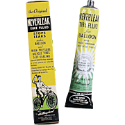 Vintage, Neverleak - Bicycle Tire Repair for Balloon Tires