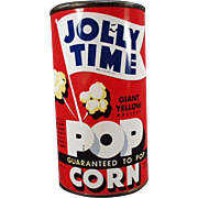 Unopened, Vintage, Jolly Time Popcorn Tin