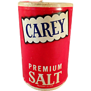 Vintage, Carey Salt Box - from Hutchinson, Kansas