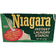 Vintage, Niagara Starch Box - Nice Decorating Item