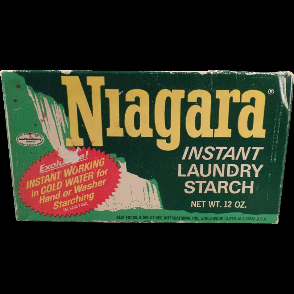 Vintage, Niagara Starch Box - Nice Decorating Item