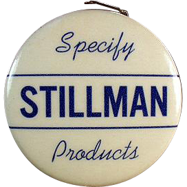 Vintage Celluloid Tape Measure - Stillman Advertising