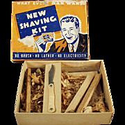 Vintage Gag Gift - Souvenir Mailer - Shave Kit