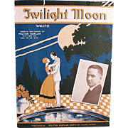 Vintage Sheet Music- Twilight Moon