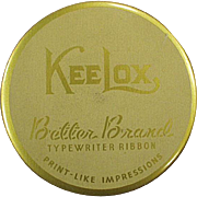 Vintage, KeeLox, Typewriter Ribbon Tin - Better Brands