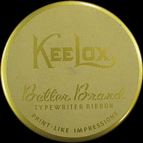 Vintage, KeeLox, Typewriter Ribbon Tin - Better Brands