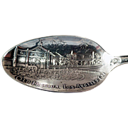 Vintage, Sterling Souvenir Spoon -  Los Angeles Mission and Much More