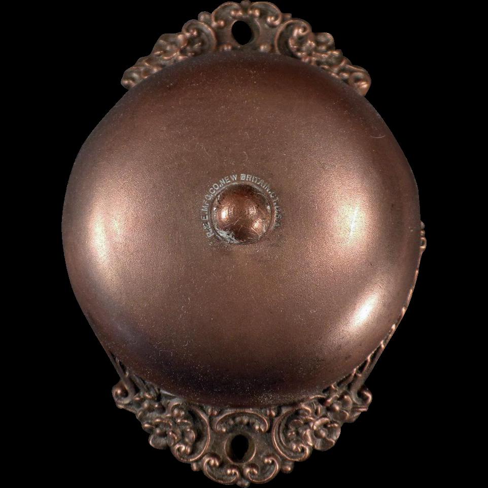Antique, Mechanical Door Bell - 1893 Russell & Erwin