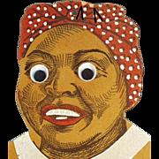 Vintage, Black Mammy, Die-Cut Wall Pocket - Great Expression