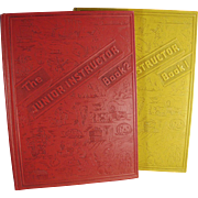 Vintage Books for Children - Junior Instructor Books - Two Volume Set