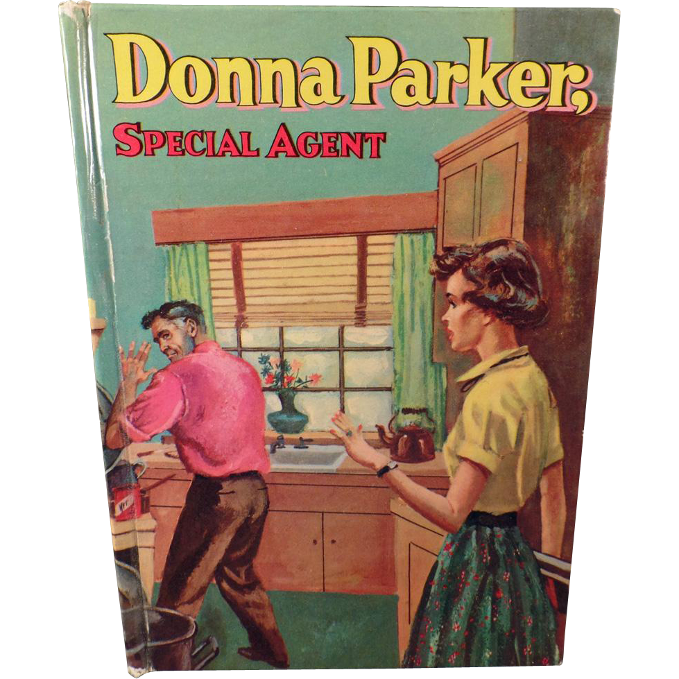 Vintage Book - Donna Parker, Special Agent - Novel by Marcia Martin