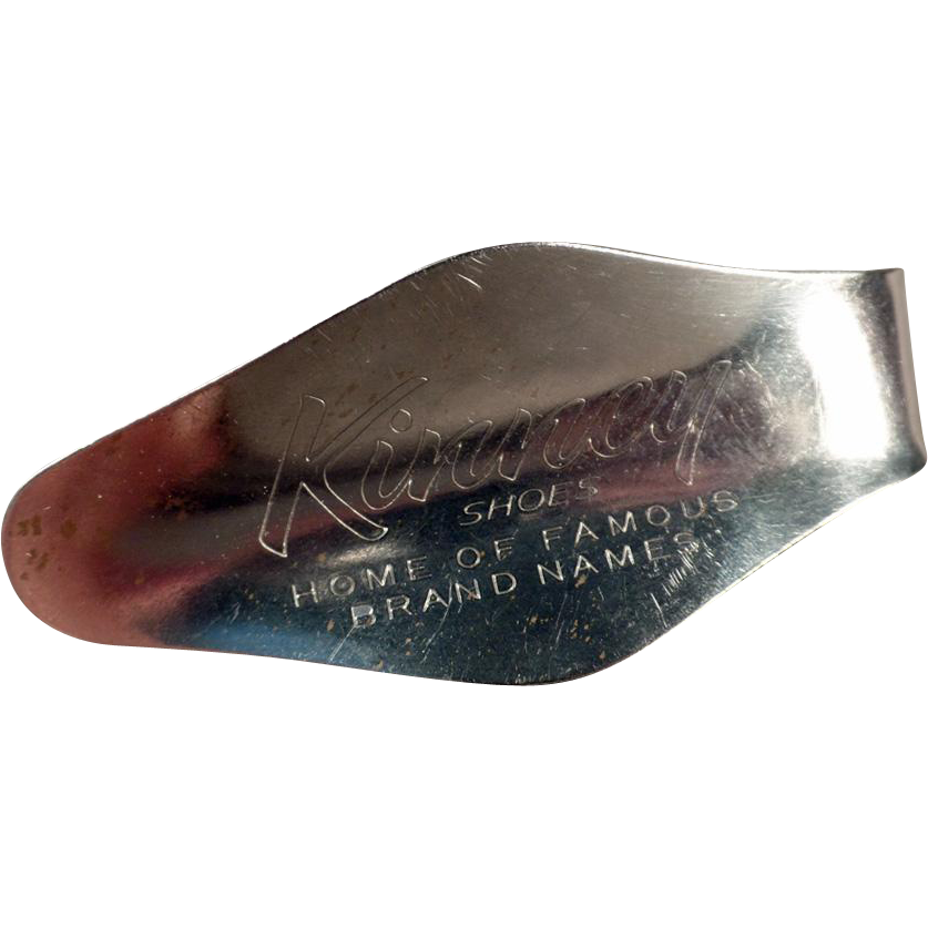 Vintage Advertising Shoe Horn - Kinney Shoes