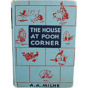 Vintage, Winnie the Pooh Book - The House at Pooh Corner