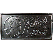 Vintage, Koken's Moor Sharpening Stone for Old Razor Blades