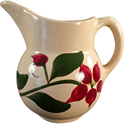 Vintage Watt Pottery - #15 Starflower Creamer