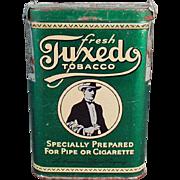 Vintage Tobacco Tin - Tuxedo Vertical