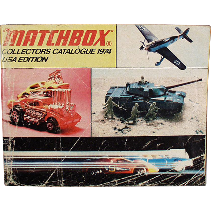 Old, Matchbox Collectors Catalogue - 1974 Identification List - Great Reference
