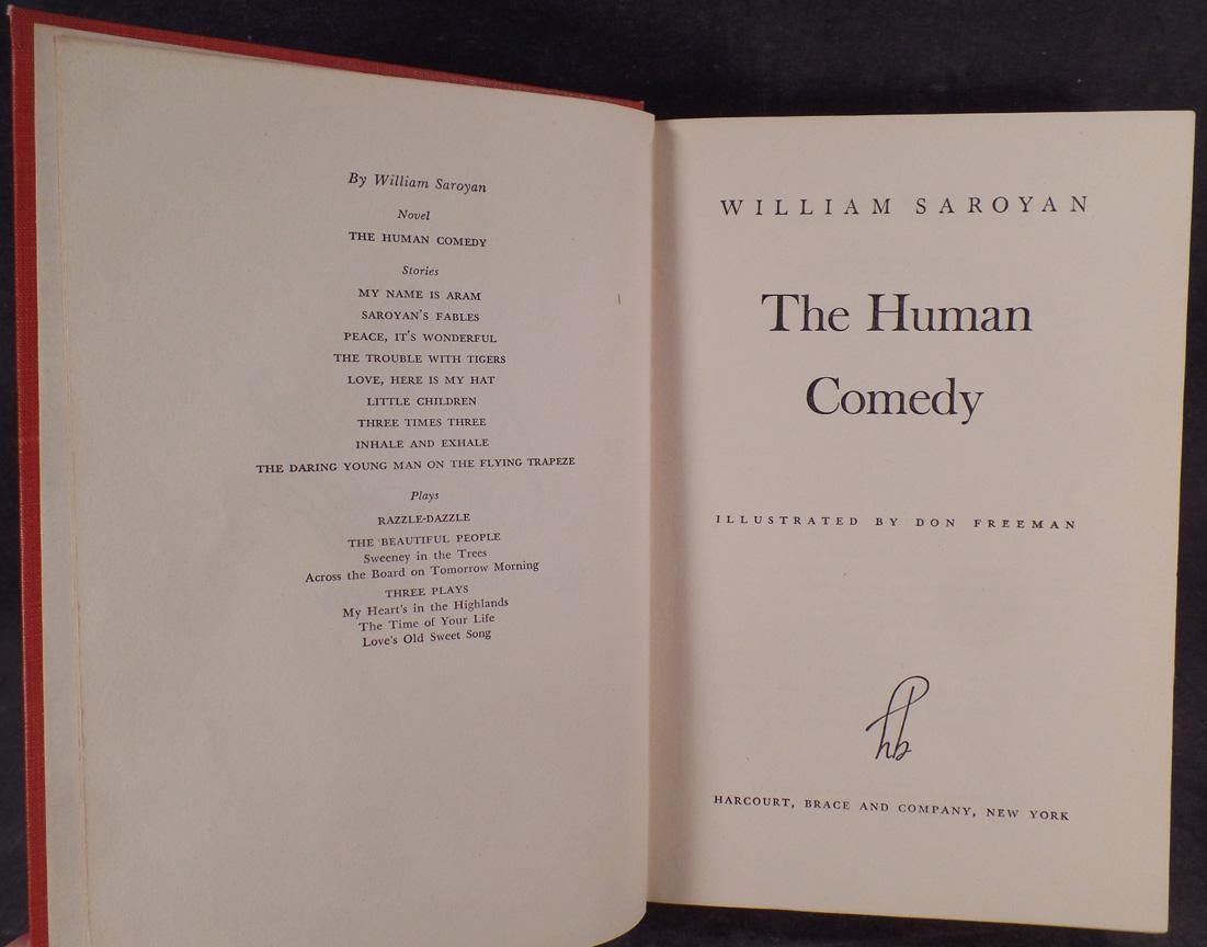 the human comedy william saroyan pdf