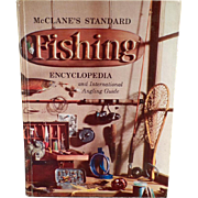 Vintage Reference Book - McClane's Standard Fishing Encyclopedia - Hardbound Edition