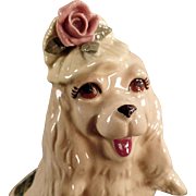 Vintage Dog Figurine - Cocker Spaniel by Cordelia China