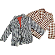 Old Casual Jackets for Mattel's Old Ken Doll - 2 Coats