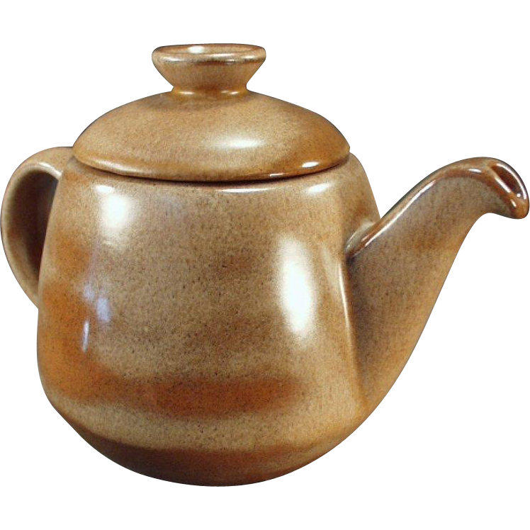 Vintage Frankoma - Large, Westwind, Covered Teapot