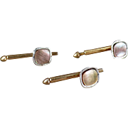 Vintage, Swank Collar or Shirt Studs - Set of Three
