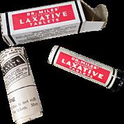 Vintage, Dr. Miles Laxative Tin with Original Box