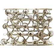 Vintage Sample or Patent Model - Miniature Mattress Bed Springs